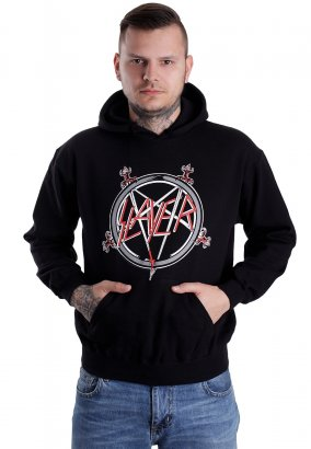 Slayer - Pentagram - Felpa con cappuccio