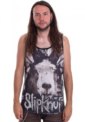 Slipknot - Etched Goat Allover - Tanktop