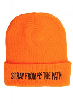 Stray From The Path - Bandlogo Orange - Beanie