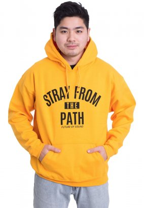 Stray From The Path - Future Of Sound Gold - Hoodie