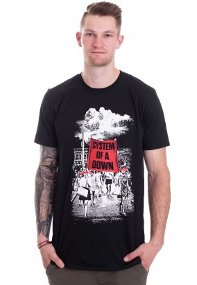 System Of A Down - Banner March - Camiseta