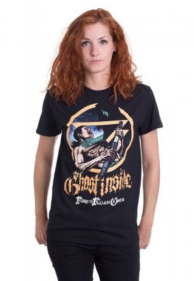 The Ghost Inside - The Fury And the Fallen Ones Cover 10 Years Anniversary - T-Shirt