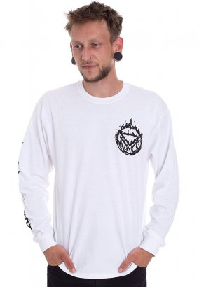 The Ghost Inside - Triumph White - Longsleeve