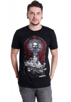 The Walking Dead - Stained Glass - T-Shirt