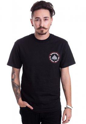 Thrasher x Independent - Thrasher Oath Black - T-Shirt