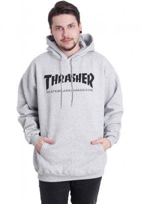Thrasher - Skate-Mag Greymottled - Hoodie