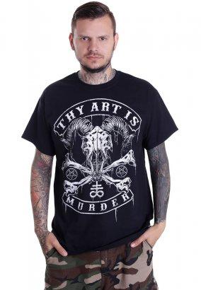 Thy Art Is Murder - Baphomet Skull - T-Shirt