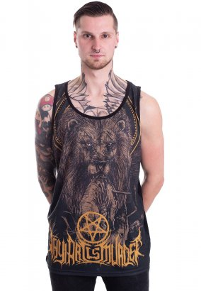 Thy Art Is Murder - Lion Allover - Tanktop