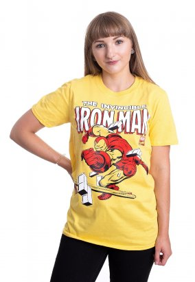 Iron Man - The Invincible Yellow - T-Shirt