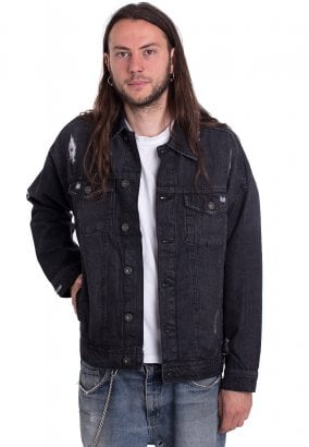 Urban Classics - Ripped Denim - Jeans Jacke