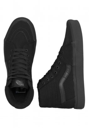 Vans - Sk8-Hi Lite Canvas Black/Black - Zapatos