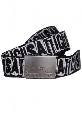 Atticus - Knockout Black Word - Belt