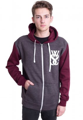While She Sleeps - You Are We Hands Charcoal/Burgundy - Vest
