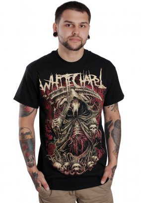 Whitechapel - The King Is Dead - T-paita