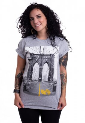 Wu-Tang Clan - Bridge Heather Grey - T-Shirt