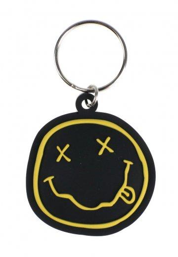 Nirvana Keychain Nirvana Smiley