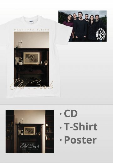 Make Them Suffer - Old Souls White Special Pack - T-Shirt