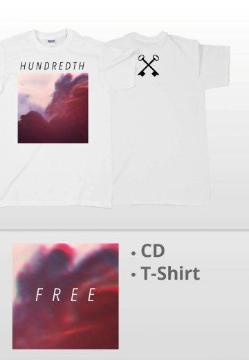 Hundredth - Free White Special Pack - T-Shirt