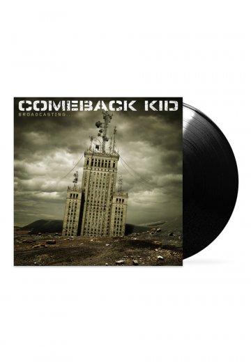 Comeback Kid - Broadcasting... - Colored LP