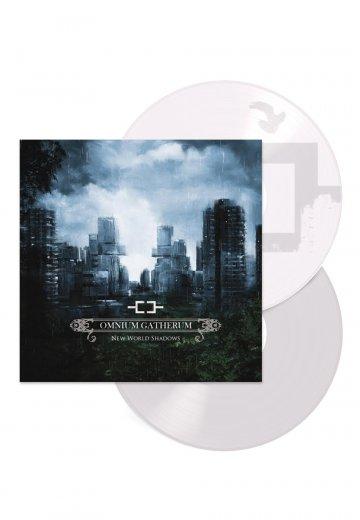 Omnium Gatherum - New World Shadows White - Colored 2 LP