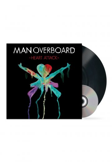 Man Overboard - Heart Attack - LP + CD