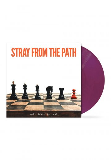 Stray From The Path - Only Death Is Real Transparent Purple - Colored LP