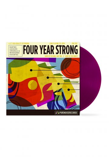 Four Year Strong - Some Of You Will Like This, Some Of You Won't Purple - Colored LP