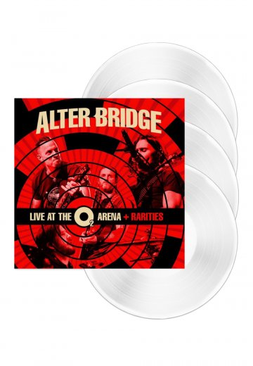 Alter Bridge - Live At The O2 Arena + Rarities White - Colored 4 LP Box