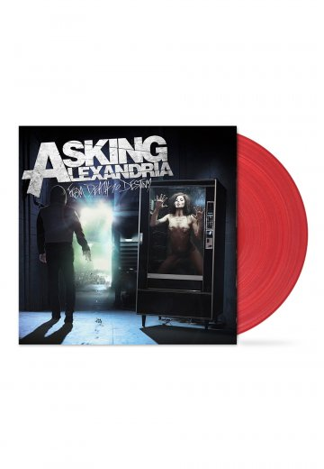 Asking Alexandria - From Death To Destiny Transparent Red - Colored LP