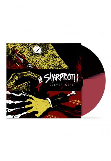 Sharptooth - Clever Girl Black/Oxblood - Colored LP