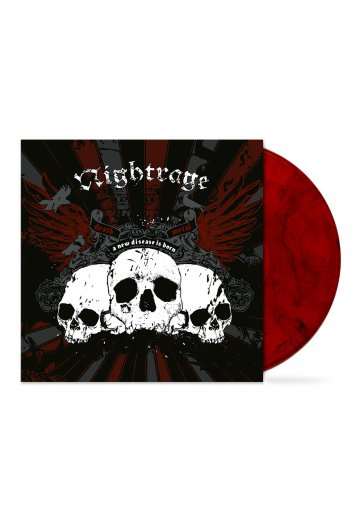 Nightrage - A New Disease Is Born Red Smoked - Colored LP