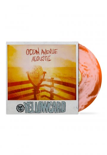 Yellowcard Ocean Avenue Acoustic Sunset Swirl Colored Lp Official Pop Punk Merchandise Impericon Us