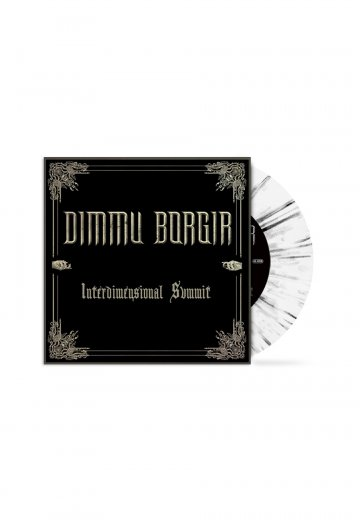 Dimmu Borgir - Interdimensional Summit White/Black - Splattered Seven Inch