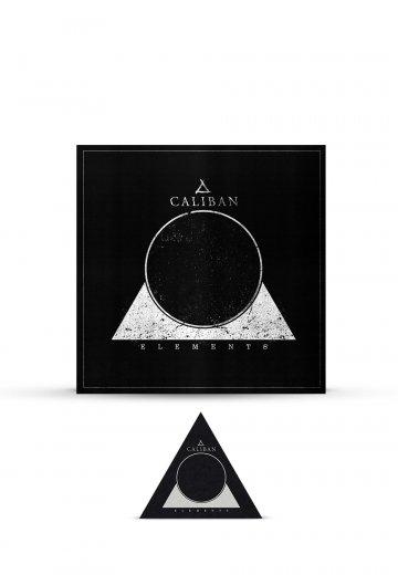 Caliban - Elements Ltd. - Digipak CD + Patch