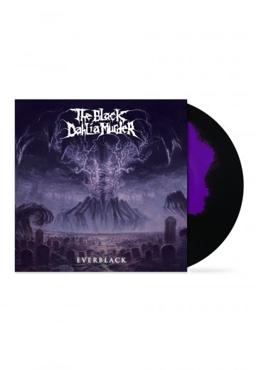 The Black Dahlia Murder - Everblack Violet Blue/Black - Marbled LP
