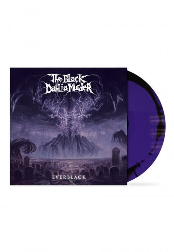 The Black Dahlia Murder - Everblack Purple/Black A/B Side Melt - Colored LP