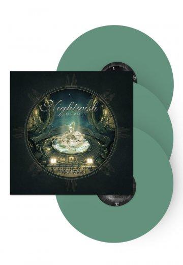 Nightwish - Decades (Best Of 1996-2015) Spearmint Green - Colored LP Box Set