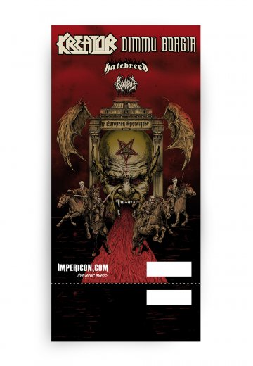 Kreator - 14.12.2018 Leipzig - Ticket