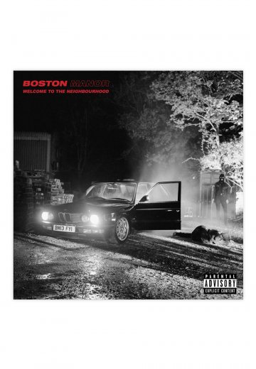 Boston Manor - Welcome To The Neighbourhood - CD