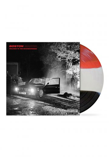 Boston Manor - Welcome To The Neighbourhood Red/White/Black - Colored LP