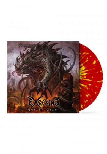 Exocrine - Molten Giant Red/Yellow - Splattered LP