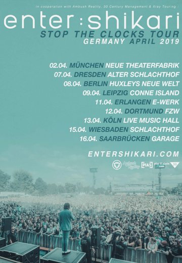 Enter Shikari - 09.04.2019 Leipzig - Ticket