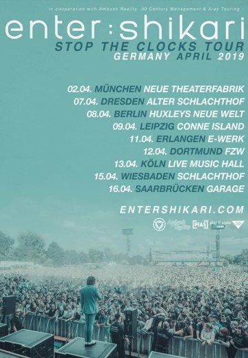 Enter Shikari - 11.04.2019 Erlangen - Ticket
