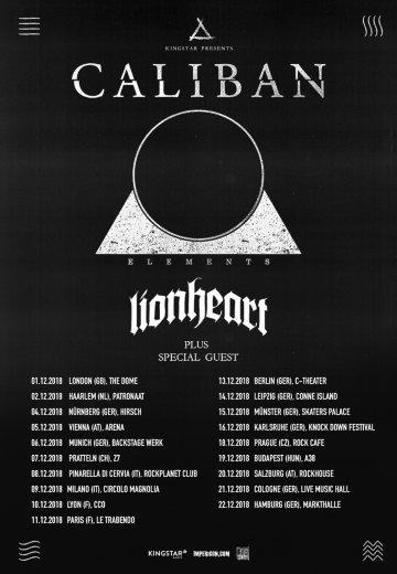 Caliban - 14.12.2018 Leipzig - Ticket
