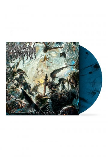 Pyrexia - Unholy Requiem Blue/Black - Splattered LP