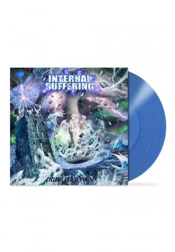 Internal Suffering - Cyclonic Void Of Power Blue - Colored LP