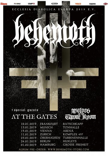 Behemoth - 10.01.2019 Frankfurt - Ticket