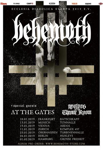 Behemoth - 13.01.2019 Wien - Ticket