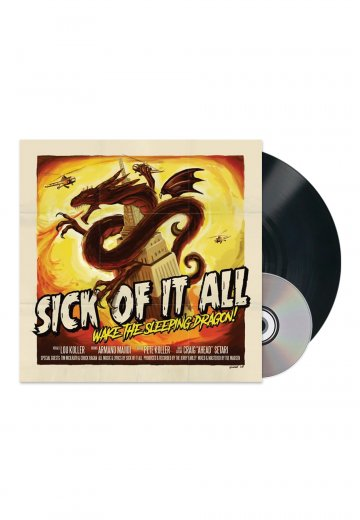 Sick Of It All - Wake The Sleeping Dragon! - LP + CD