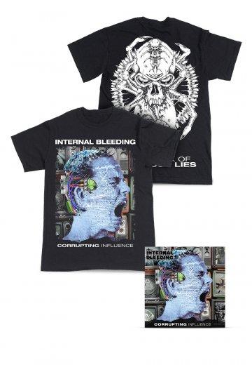 Internal Bleeding - Corrupting Influence Special Pack - T-Shirt
